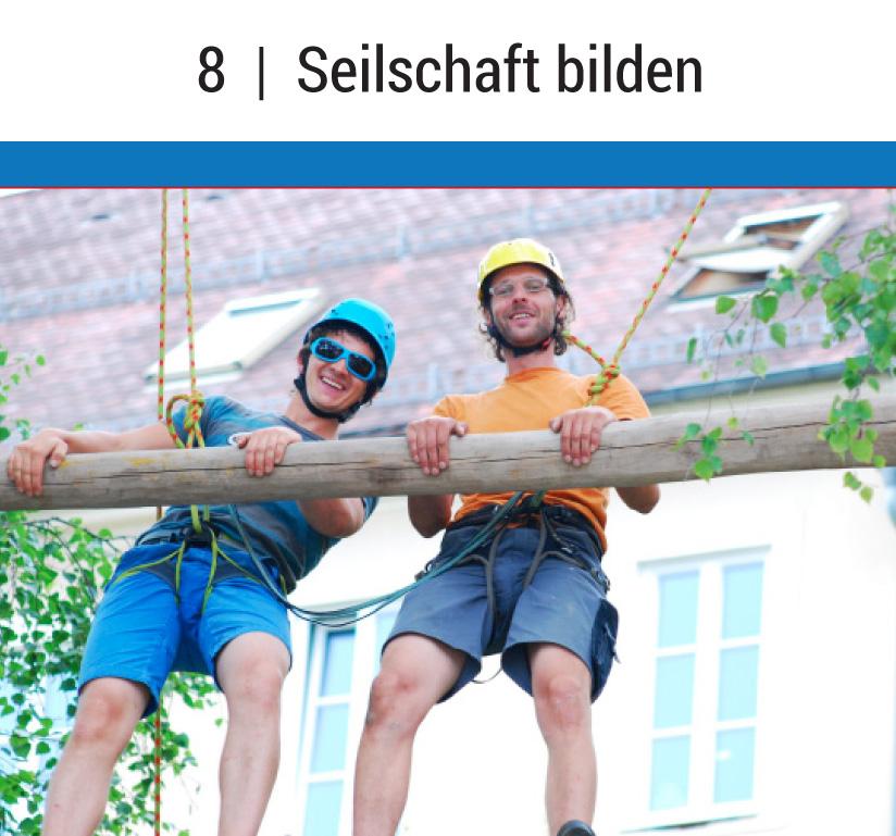 Riesenleiter_Seilschaft_bilden